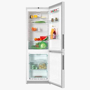 REFRIGERATEUR MIELE POSABLE KFN 28132 EDT/CS / NO FROST / DYNACOOL