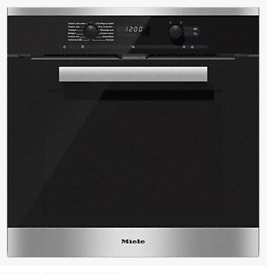 FOUR MIELE H6267 BP INOX / Multifonctions / HydraCook / FlexiClip